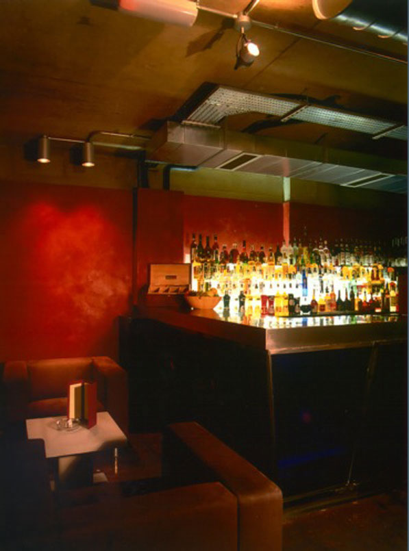 Bar Red, Soho, London, Image of the original bar area