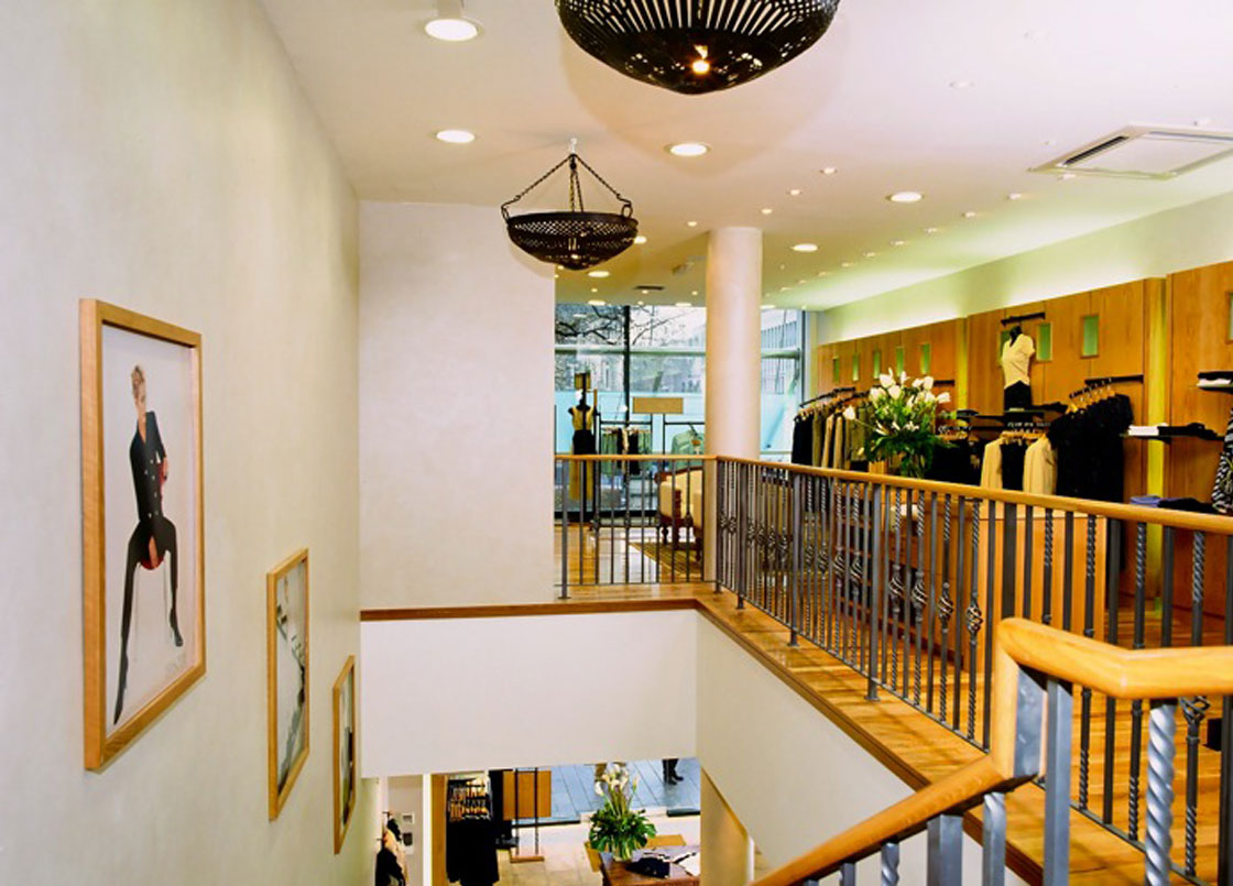 Episode high street store, interior design