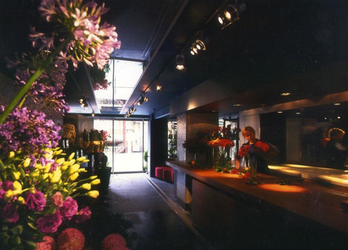Flowerstore, Oxo Tower, London, Interior Design, Feng Shui