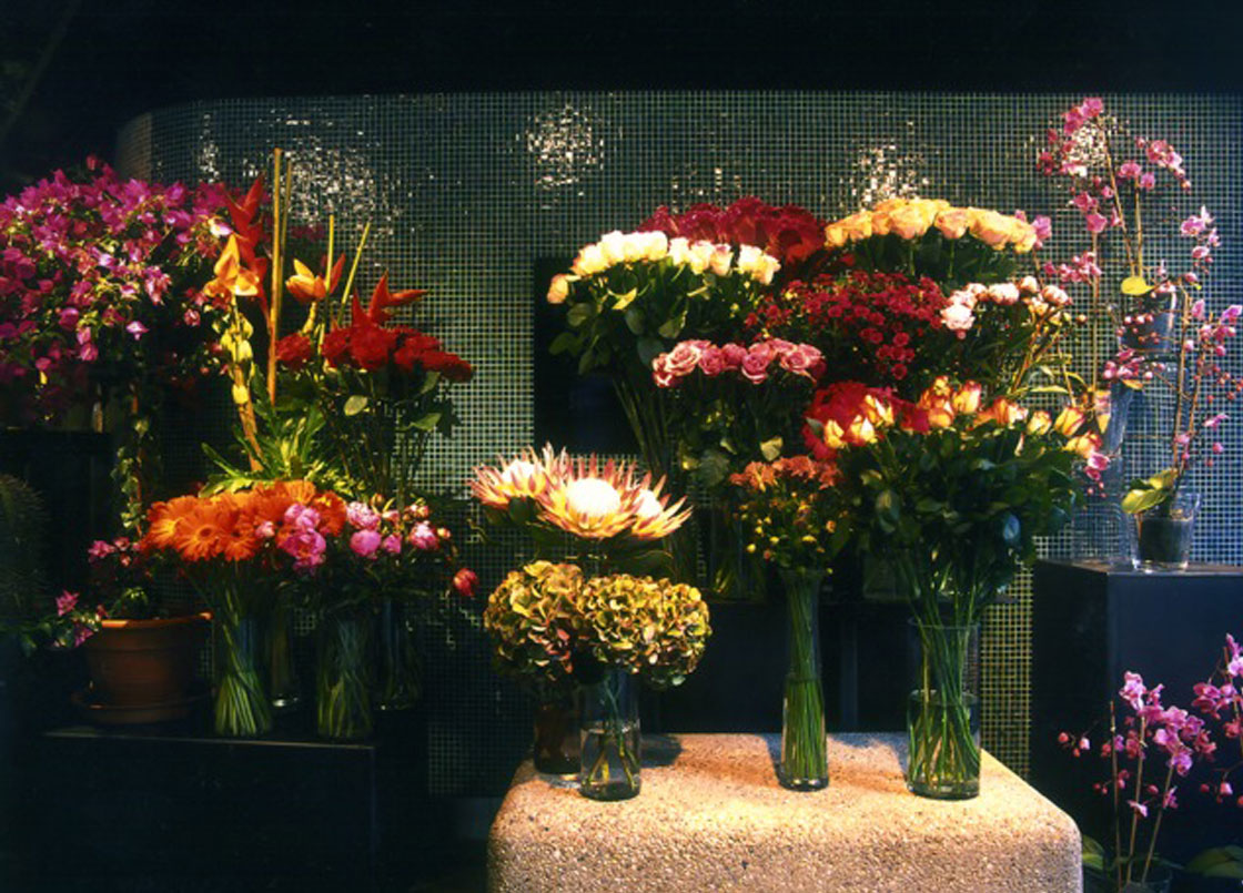Flowers at the Flowerstore, Oxo Tower, London
