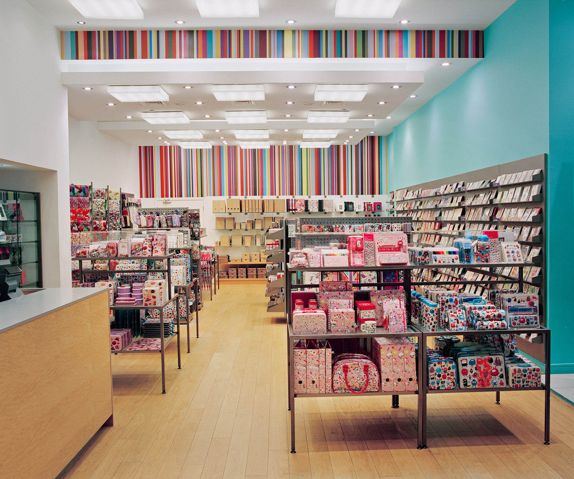 Interior image of Paperchase Dubai