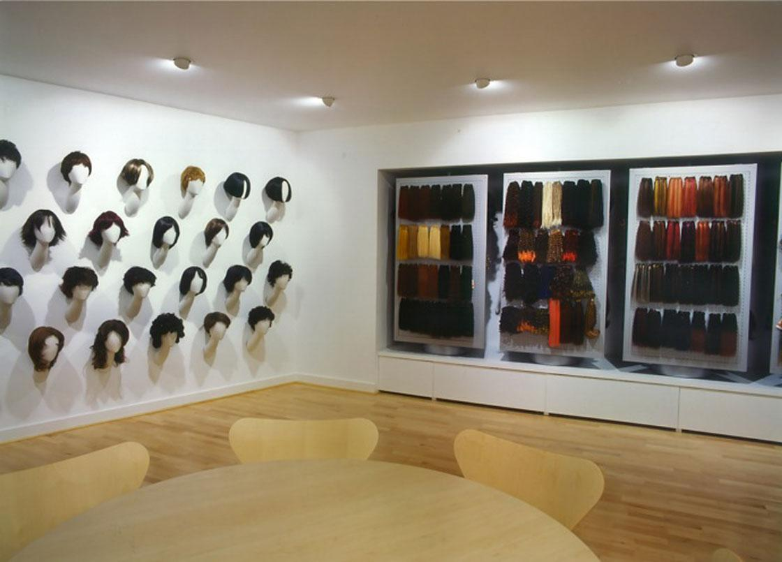 Feme head office wig display units