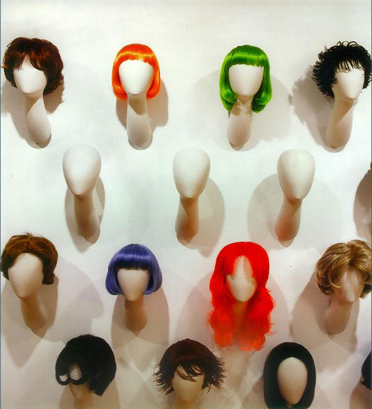Wig display Feme Head Office