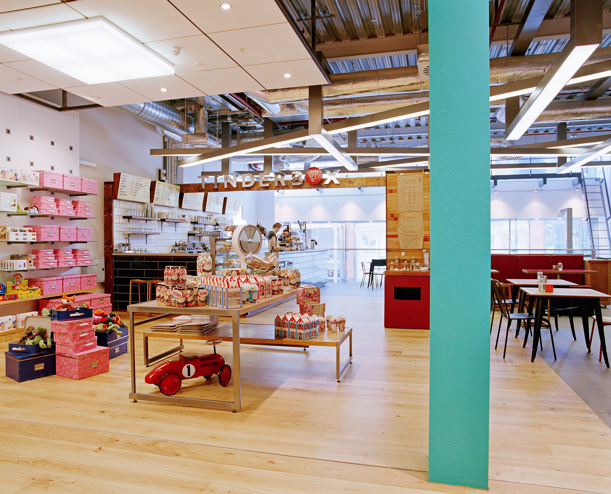Tinderbox Cafe, Paperchase Glasgow