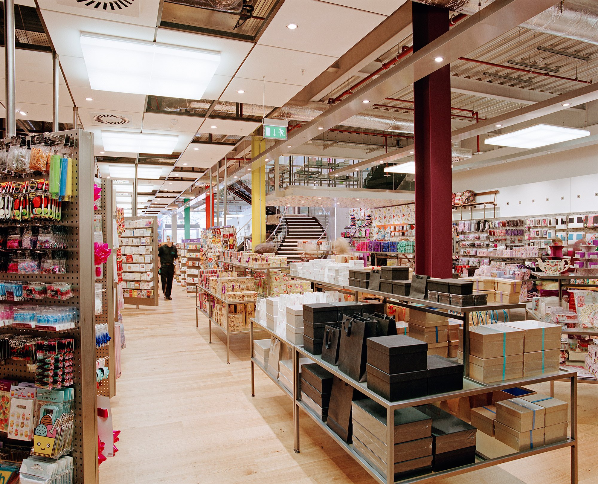 Paperchase Glasgow ground floor featuring Paperchase products