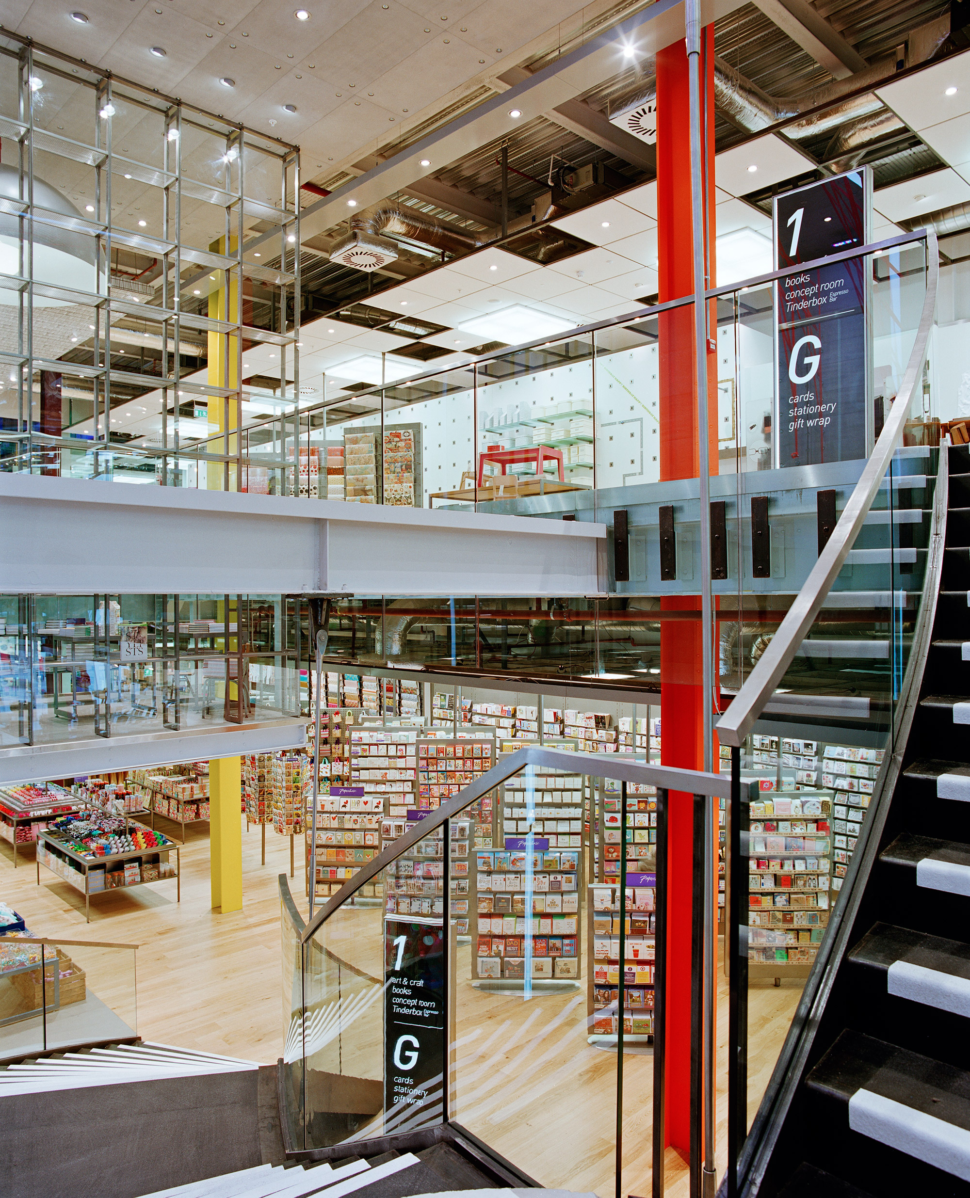 Paperchase Glasgow ground floor and first floor image