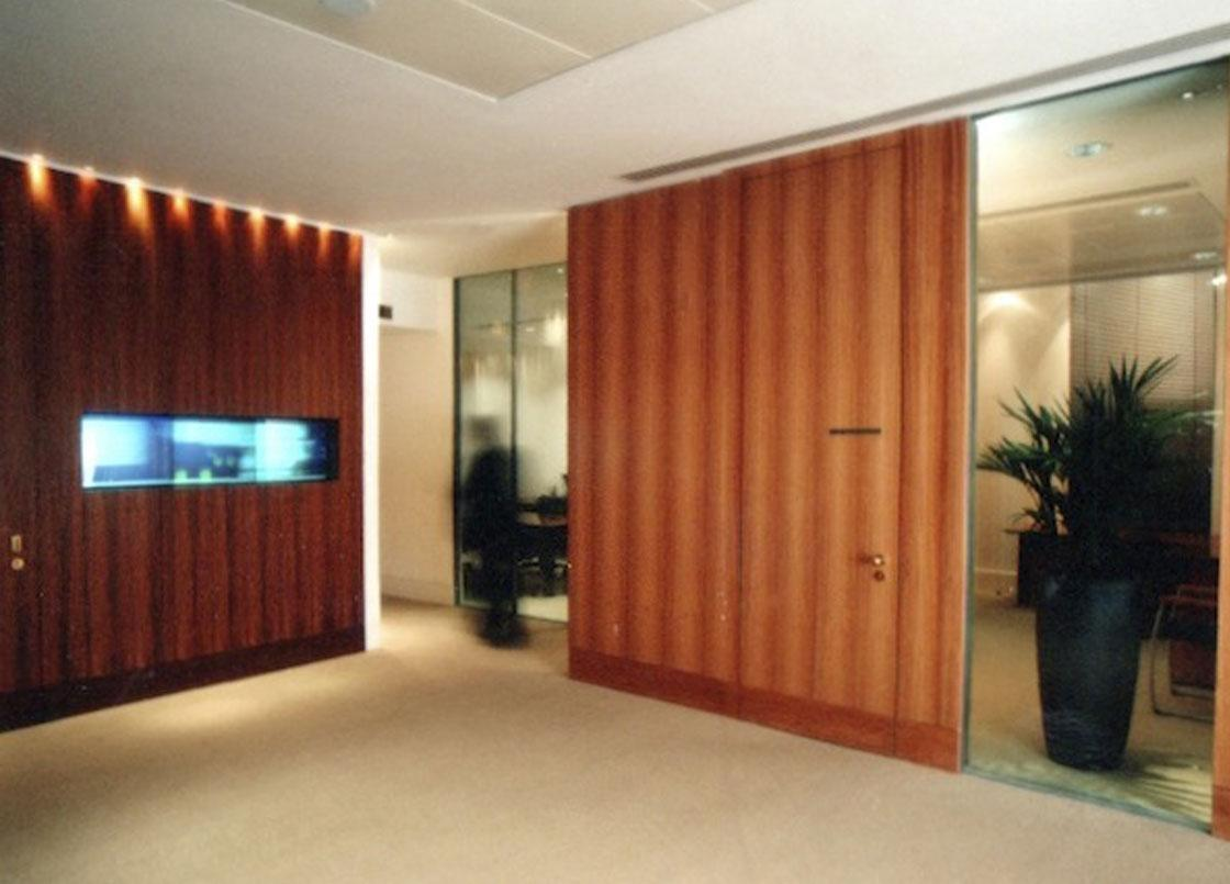 Private office space at Reuters head office, London