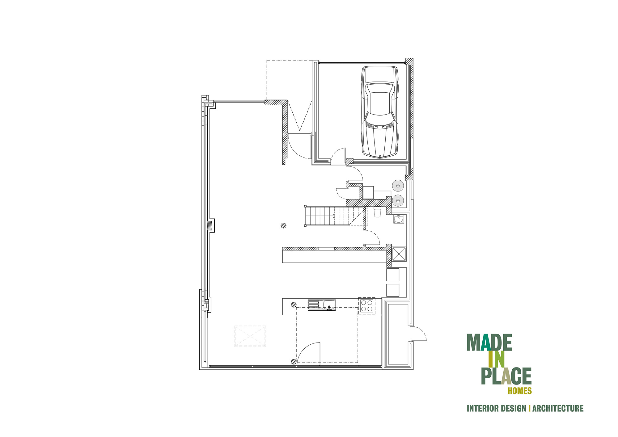 West Sussex Passivhaus new floor plan
