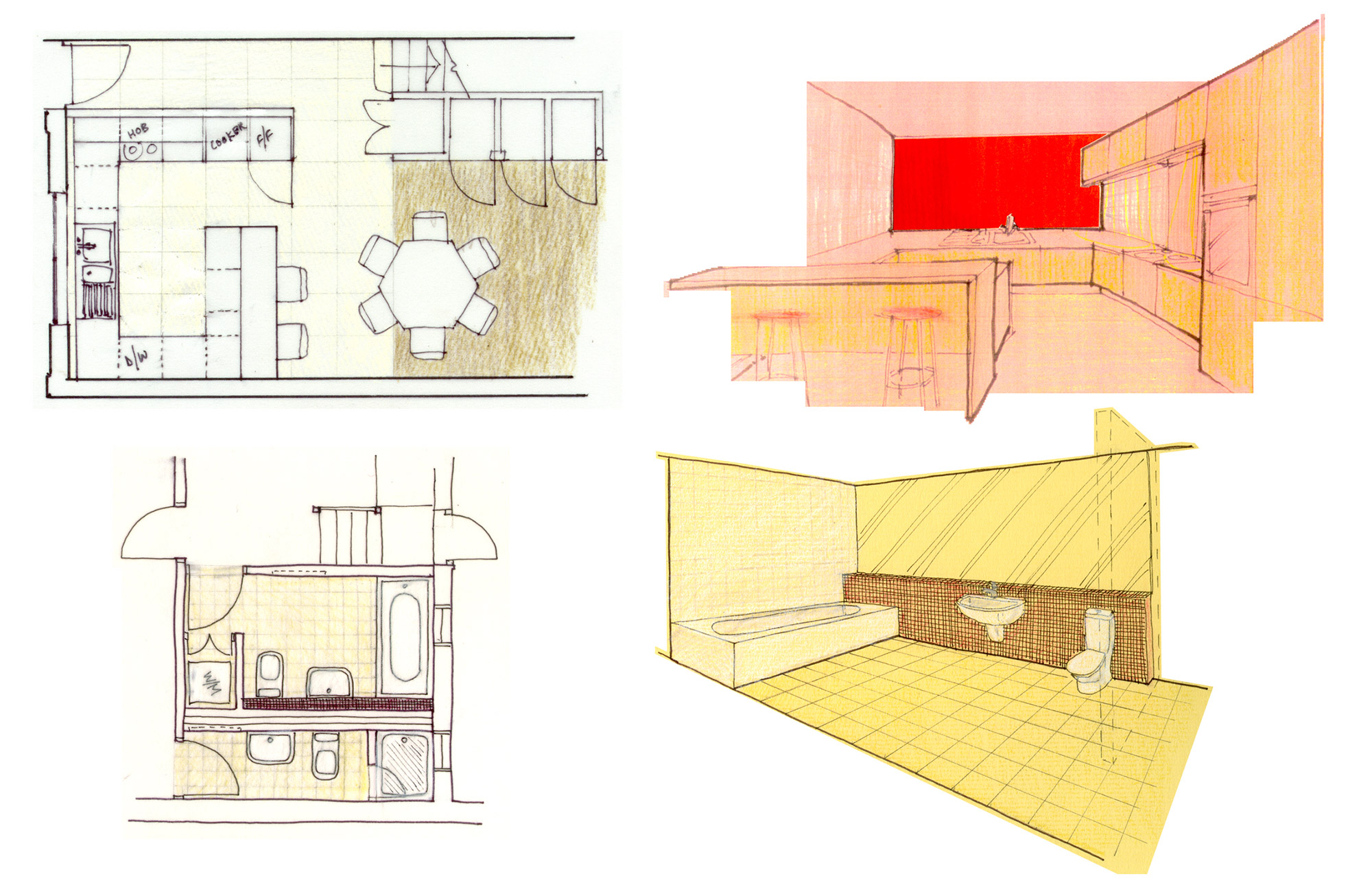 Islington House concept sketches - Made In Place Homes