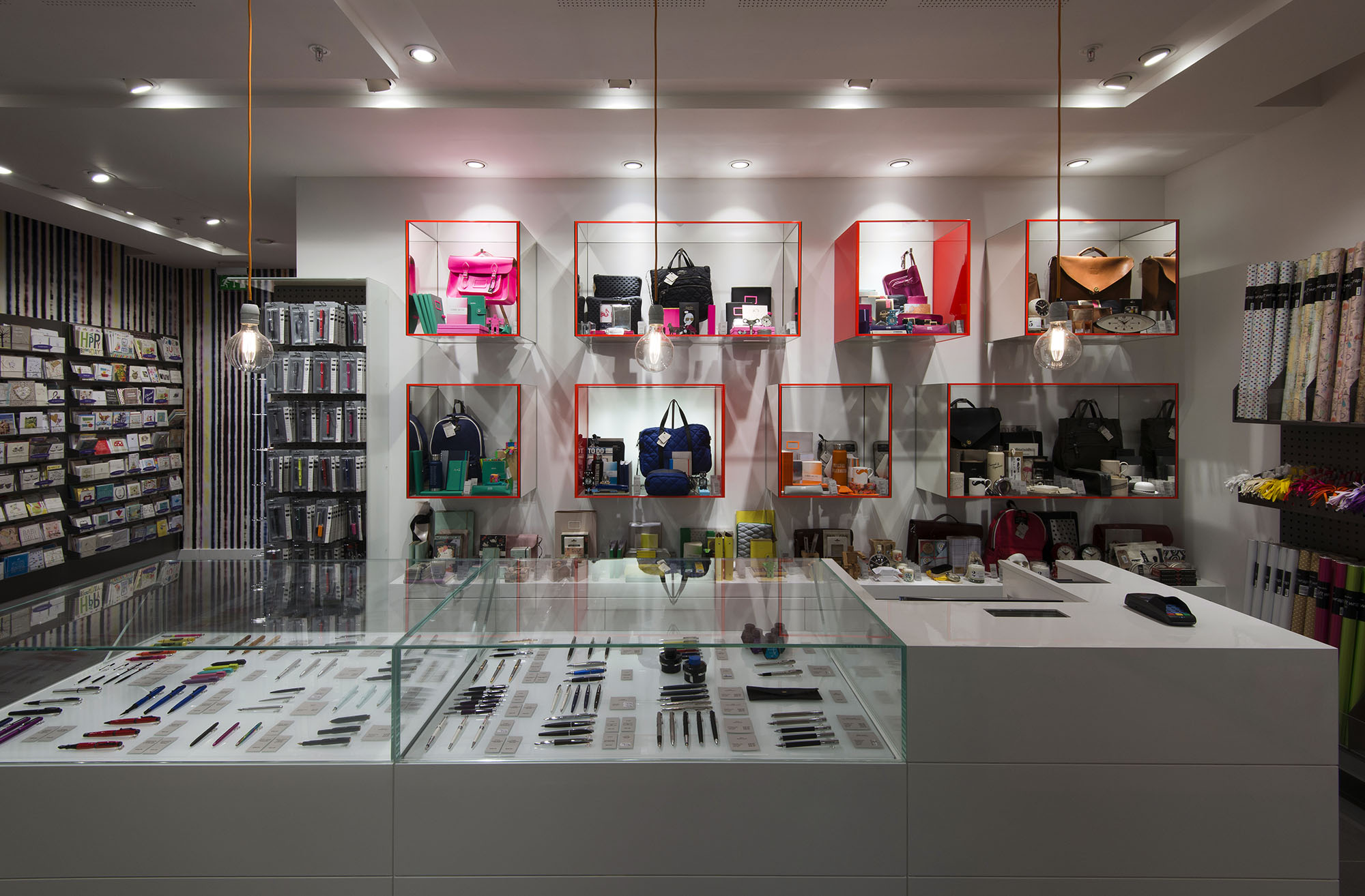 Interior image of Paperchase Bishopsgate