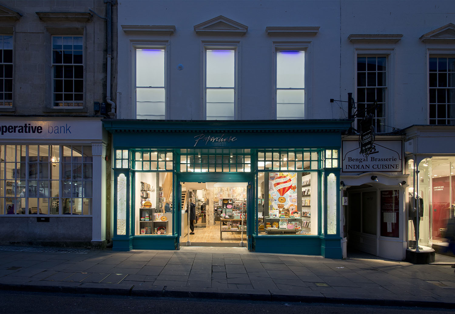 Paperchase Bath shop front