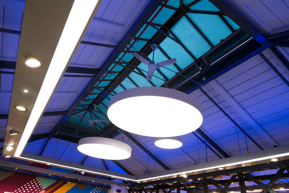London Transport Museum shop retail lighting by Made In Place Design