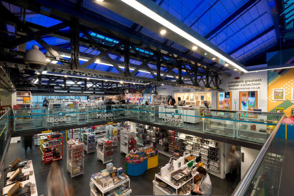 London Transport Museum Shop by Made In Place Design