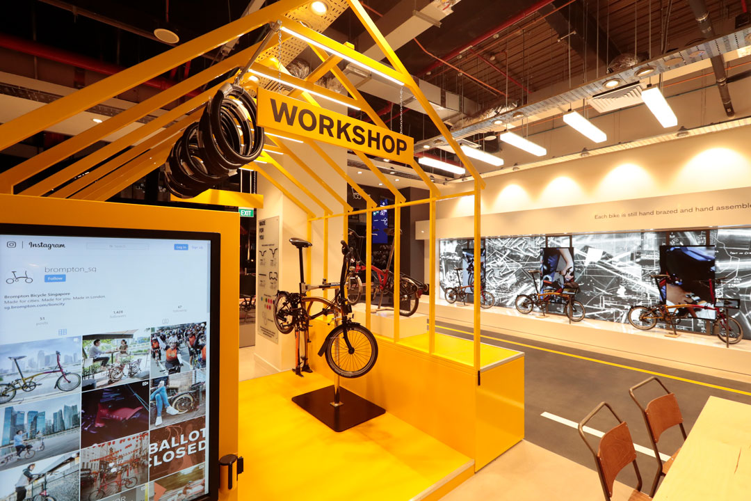Workshop space Brompton Junction Sinapore by Made In Place Design